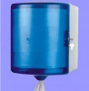 Spring Wood Mini Center Pull Paper Towel Dispenser - Blue