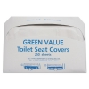 GENERAL ELECTRIC Half-Fold Toilet Seat Covers - White, 5000/Carton
