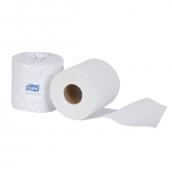Tork Advanced 2-Ply Bath Tissue Roll - 80/CS