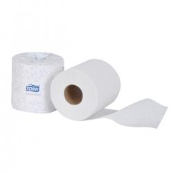 Tork Advanced 2-Ply Bath Tissue Roll - 80/CS
