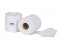 Tork Advanced Soft 2-Ply Bath Tissue Roll - 550 Sheets/RL, 80/CS