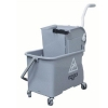 UNGER Gray Mop Bucket with Wringer - 4 Gallon