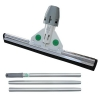 "UNGER SmartFit WaterWand 30"" Heavy Duty Floor Squeegee - with SmartColor System and Handle Kit"