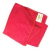 UNGER SmartColor™ MicroWipe™ Medium Duty Microfiber Cleaning Cloth - 2000 Red