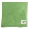 UNGER SmartColor™ MicroFiber Wipes - 16 X 15, Green, 10/Carton