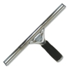 """UNGER Pro Stainless Steel Squeegee - 10"""" WIDE BLADE, 4"""" HANDLE"""