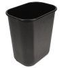 RUBBERMAID Soft-Sided Wastebasket - 28 QT