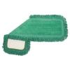 BOARDWALK Microfiber Dust Mop Heads - 18 X 5, Green, 1 Dozen