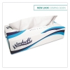 "WINDSOFT Facial Tissue  - Two-Ply, 8"" x 8"" Sheets"