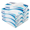 RUBBERMAID White Facial Tissue - 2-Ply